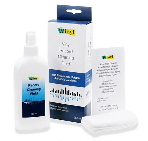 Spray vinyles accessoires nettoyage