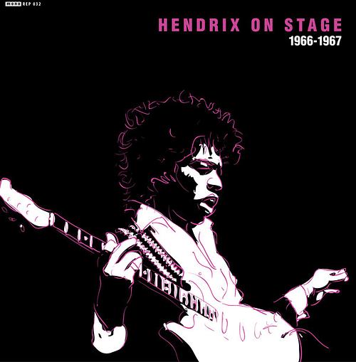 Jimi Hendrix Hendrix on Stage